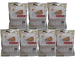 Konzelmanns Original - Protein Chips Onion Cream - 7 x 30g