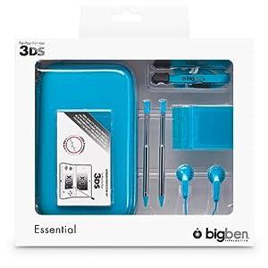 """Nintendo 3DS – Zubehör-Set """"Essential"""" (farbig sortiert)"""