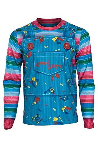Kinderspiel Damen Kostüm - MingoTor Kinderspiel Child's abspielen Play T-Shirt Hemd Cosplay Kostüm Damen XS