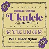 Best D'Addario Ukulele Strings - D'Addario Cordes pour ukulele D'Addario J53, Hawaiian/Concert Review