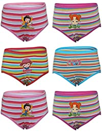 BODYCARE Printed Panty for Girls Pack of 6 from