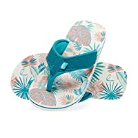 Animal Girls Flip Flops -Swish AOP