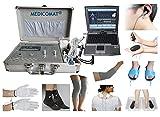 Health Check Máquinas Medicomat de 291E fisioterapia conductora de mano Soporte de Rodilla Codo Garments acupuntura masaje