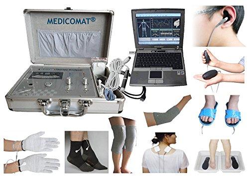 st und therapeutische Computer Software Medicomat29+ C leitende Kleidungsstücke für Electro Massage Akupunktur Behandlung Socken Handschuhe Knie-, Ellenbogen Pads (Massage-software)