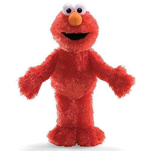 Gund Sesamo 75351 Elmo - Peluche, 33 cm [imported from Germany]