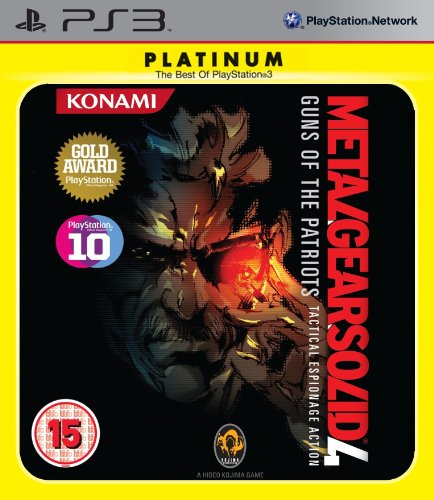 Metal Gear Solid 4: Guns Of The Patriots - Platinum [UK-Import] (Pc V Metal Solid Gear)
