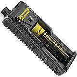 Nitecore I1 Chargeur de Batterie pour Appareil photo Noir