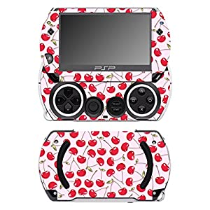 Disagu SF-14232_1079 Design Folie für Sony PSP Go – Motiv Kirschen rosa transparent