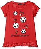 Blue Seven Mädchen T-Shirt Rundhals, Rot (Rot 327), 104
