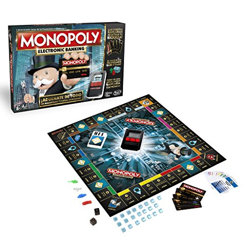 Hasbro B6677105 Monopoly – Electronic Banking (Spanische Version)