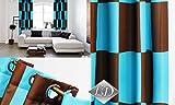 FK-Lampem Ösenvorhang AGW Blickdicht Schlaufenschal Set Top Design Modern 2 Vorhänge Leinenoptik Art Deco (W5)