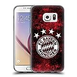 Head Case Designs Offizielle FC Bayern Munich Verzweifelt 2017/18 Muster Soft Gel Hülle für Samsung Galaxy S7