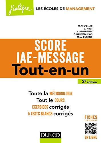 Score IAE-Message - 3e d. - Tout-en-un