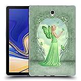 Head Case Designs Officiel Rachel Anderson Péridot Fées de Pierre de Naissance Étui Coque en Gel Molle pour Samsung Galaxy Tab S4 10.5 (2018)