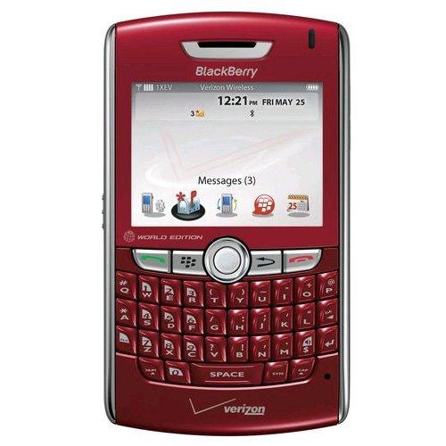 8830 Replica BlackBerry Handy-Attrappe/Spielzeug-Handy, Rot (Verizon-handys-zubehör)