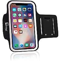 RevereSport Sportarmband für iPhone X/XS. Armband Telefon Handyhalter Case für Laufen, Workout, Joggen und Fitness