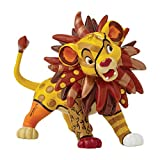Disney de Romero Britto Mini Simba Figura Decorativa