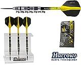 Darts HARROWS Elite 90% Tungsten Steeldarts + Dartständer