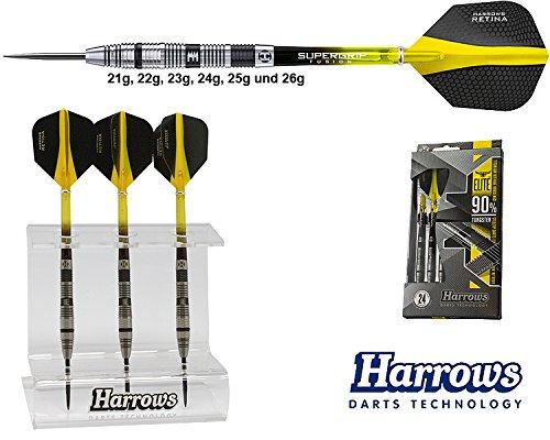 *Darts HARROWS Elite 90% Tungsten Steeldarts + Dartständer*