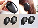 #9: 2 Pair Black Plastic Hair Dye Ear Cover Shield Tint Clip