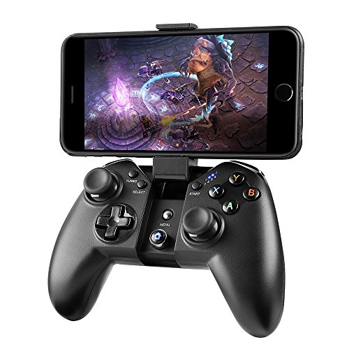 MAD GIGA Mando PS3 Wireless, Gamepad Inalámbrico Mando Controller, Mando PC Wireless Juego Inalámbrico para PS3, Aandroid, Tableta, Decodificador, Smart TV, Windows, iCade Rango hasta 10M