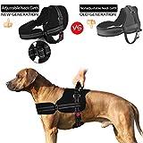 SlowTon No Pull Dog Vest Harness, 2018 New Generation Adjustable Neck Strap