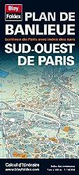 Plan de Banlieue Sud-Ouest de Paris (échelle 1/14 000)