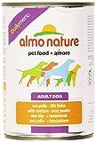 Almo Nature - Alimento per Cani, con Pollo - 400 g
