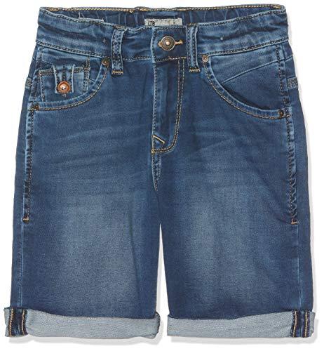 LTB Jeans Jungen Shorts Anders X B Blau (Eternia Wash 50864) 158 (Herstellergröße: 13)
