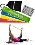 - -- Active Vikings Double Band – -4 STRENGTHS Set –  – - – - – - – -Resistance Band Set of 4 Loop Exercise Bands – Ideal for muscle building Physio Pilates Yoga GYM AND Crossfit Fitness Band Exercise Loop Bands/Resistance Band Loop Ribbon Loop Active Vikings)