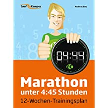 Marathon unter 4:45 Stunden