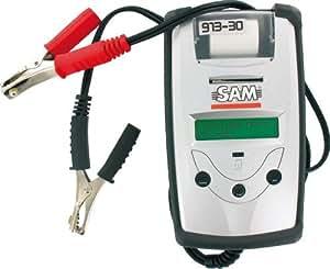 Sam outillage - 913-30 - Testeur de batteries et testeur du système de charge avec imprimante