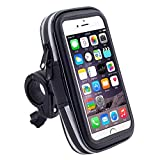 ROOKLY Bike Borsa Per Manubrio Ciclismo Frame Bag Phone Mount Holder Per Iphone 6 7 8 / 6Plus 7Plus 8Plus,5.5