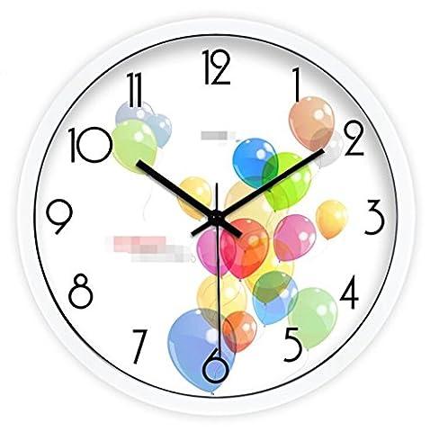 Sucastle Clock, creative wall clock, art wall clock, fashion wall clock, living room clock, mute wall clock 12