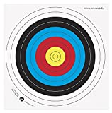 Petron Archery Training Top Quality Paper Target Face 40/60/80cm Pack Of 10