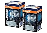 Carparts-Online 28780SET Osram Xenarc Nightbreaker Unlimited D1S 35W 85V Xenon Brenner 2 Stück IM Set