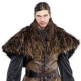 Pelz-Schulterumhang Krieger-Kostümzubehör