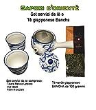 MiFan Sapori d'orientè - Set Servizi da tè e tè Giapponese Bancha - Idee Regalo Natale