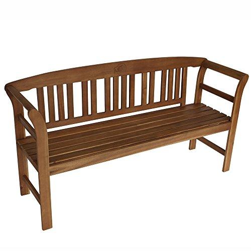 Gartenbank 3-Sitzer 157x45x83cm Holz Akazie FSC-zertifiziert