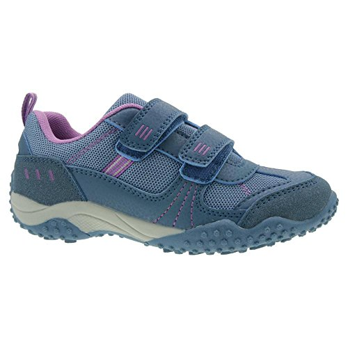 Indigo Kinder Halbschuh Sneaker Low-Top Sportlich Klett Gr.25-32 Türkis EUR 32