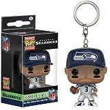 NFL Seattle Seahawks Russel Wilson Pocket Pop! Vinyl Keychain