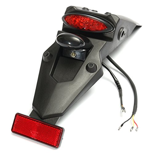 Alamor 12V LED guardabarros trasera de la cola STOP reflector de luz...