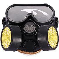 Industrie Gas chemischen Anti-Staub Farbe Atemschutzmaske Gläser Brillen-Set Komfort Anti Dust Gesicht Mund Warm... preisvergleich bei billige-tabletten.eu