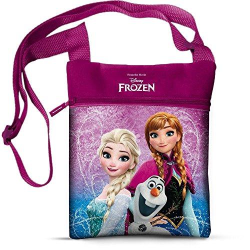 Borsa frozen elsa anna olaf disney passeggio bambina tracolla cm. 21x16,5 - 42954