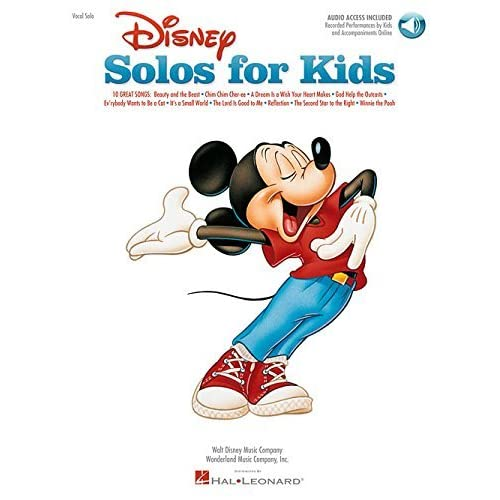 [Disney Solos for Kids (Vocal Collection) with online audio (Includes Online Access Code)] [By: Various] [January, 2003]