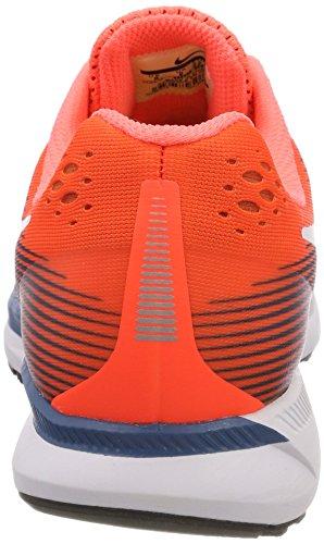 Nike Herren Air Zoom Pegasus 34 Laufschuhe Orange (Hyperorange/bleuindustrial/bleuchlorine/noir)