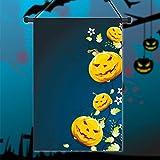 [Livraison Gratuite 7-12 jours] 30x45cm de halloween polyester citrouille fleur drapeau décoration de vacances jardin BML®