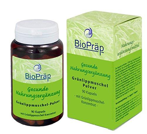 BioPräp Grünlippmuschel Kapseln 90St., 50 g