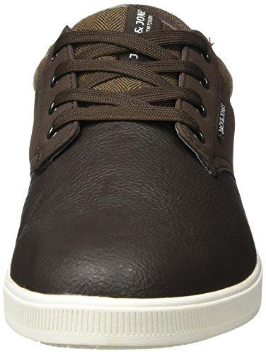 Jack & Jones Jfwgaston PU Mix Java, Sneakers Basses Homme Marron (Java)