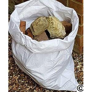 51 2mMUEZ5L. SS300  - 20 sacos de escombros de tela de polipropileno, de 55,88 x 76,2 cm